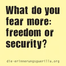 What do you fear more